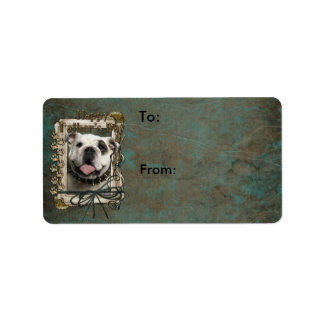 Fathers Day - Stone Paws - Bulldog