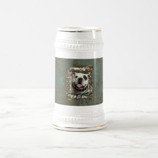 Fathers Day - Stone Paws - Bulldog Beer Steins