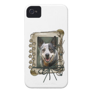 Fathers Day - Stone Paws - Cattle Dog Case-Mate iPhone 4 Case