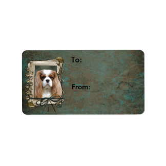 Fathers Day - Stone Paws - Cavalier - Blenheim
