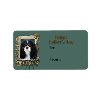 Fathers Day - Stone Paws - Cavalier - Tri Color