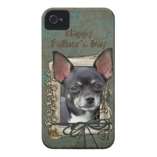 Fathers Day - Stone Paws - Chihuahua - Isabella Case-Mate iPhone 4 Cases