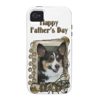 Fathers Day - Stone Paws - Corgi iPhone 4/4S Cover