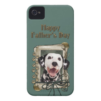Fathers Day - Stone Paws - Dalmatian iPhone 4 Cases