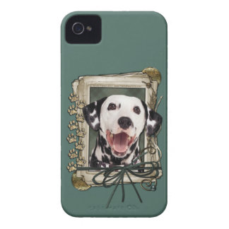 Fathers Day - Stone Paws - Dalmatian Case-Mate iPhone 4 Cases