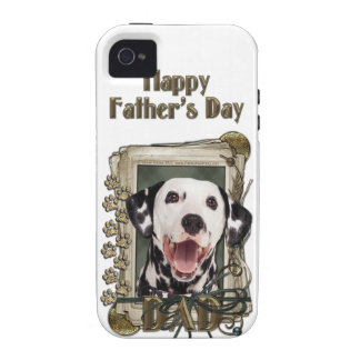 Fathers Day - Stone Paws - Dalmatian iPhone 4 Cover