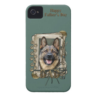 Fathers Day - Stone Paws - German Shepherd Case-Mate iPhone 4 Cases