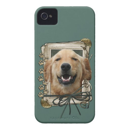 Fathers Day - Stone Paws - Golden Retriever Mickey Blackberry Bold Cases