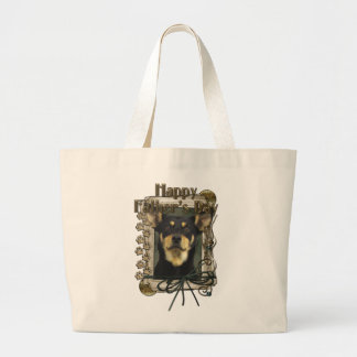 Fathers Day - Stone Paws - Kelpie - Jude Jumbo Tote Bag