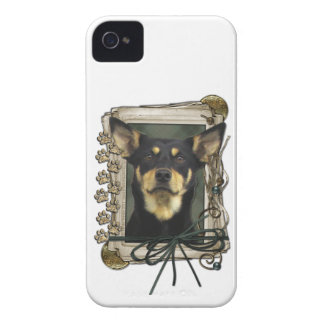 Fathers Day - Stone Paws - Kelpie - Jude iPhone 4 Cover