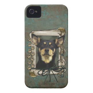Fathers Day - Stone Paws - Kelpie - Jude iPhone 4 Case-Mate Case