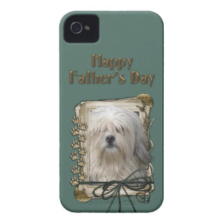 Fathers Day - Stone Paws - Lowchen Case-Mate iPhone 4 Cases