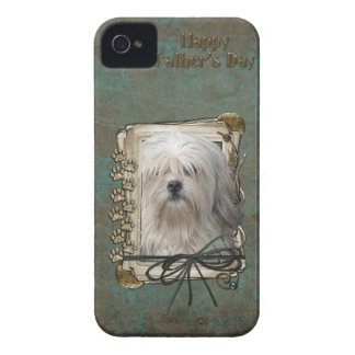 Fathers Day - Stone Paws - Lowchen iPhone 4 Case-Mate Cases