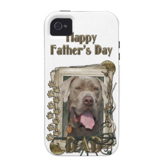 Fathers Day - Stone Paws - Mastiff - Snoop Case-Mate iPhone 4 Cases