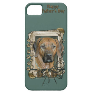 Fathers Day - Stone Paws - Rhodesian Ridgeback Case For The iPhone 5