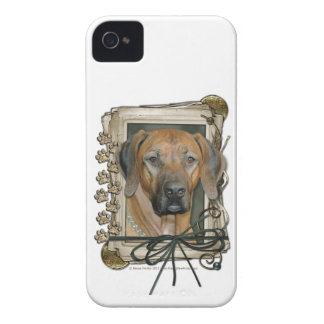 Fathers Day - Stone Paws - Rhodesian Ridgeback Case-Mate iPhone 4 Case