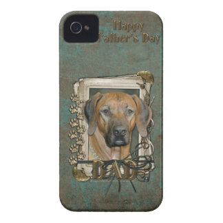 Fathers Day - Stone Paws - Rhodesian Ridgeback iPhone 4 Case