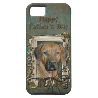 Fathers Day - Stone Paws - Rhodesian Ridgeback iPhone 5 Cases