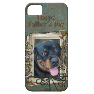 Fathers Day - Stone Paws - Rottweiler - Harley Case For The iPhone 5
