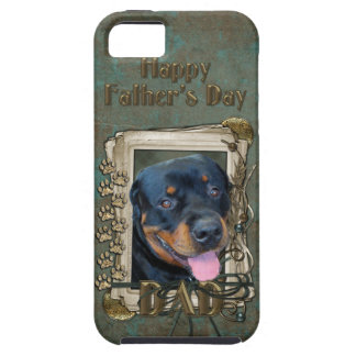 Fathers Day - Stone Paws - Rottweiler - Harley iPhone 5 Cases