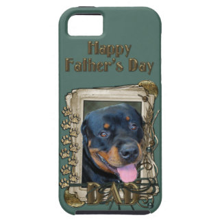 Fathers Day - Stone Paws - Rottweiler - Harley iPhone 5 Covers