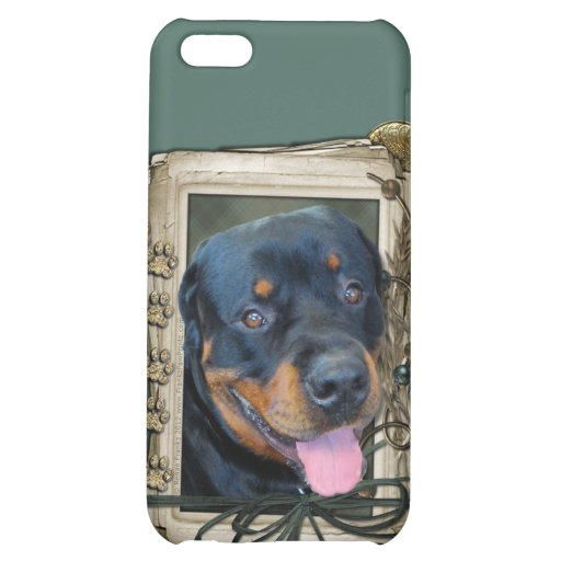 Fathers Day - Stone Paws - Rottweiler - Harley iPhone 5C Cover