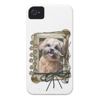 Fathers Day - Stone Paws - ShihPoo - Maggie iPhone 4 Case-Mate Cases
