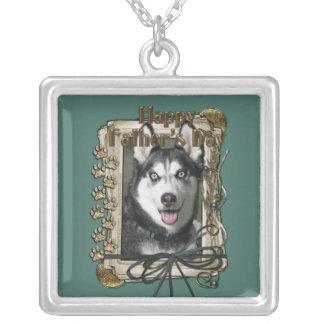 Fathers Day - Stone Paws - Siberian Husky Custom Jewelry
