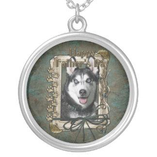 Fathers Day - Stone Paws - Siberian Husky Jewelry