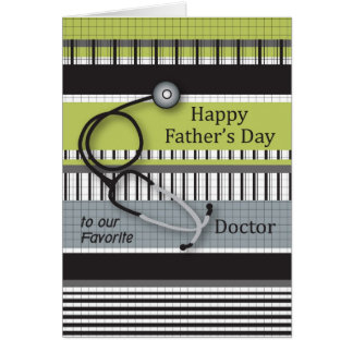 Father's Day to Doctor Card