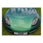 Father's Day TVR Sports car card