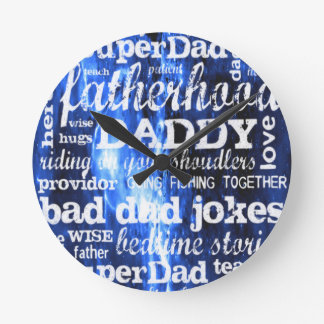 Father's Day Wallclock