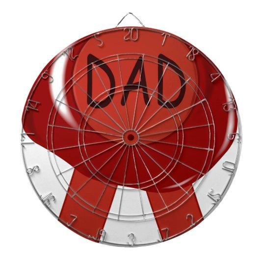 Fathers Day Wax Stamp Dartboard