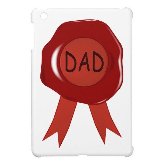 Fathers Day Wax Stamp iPad Mini Case