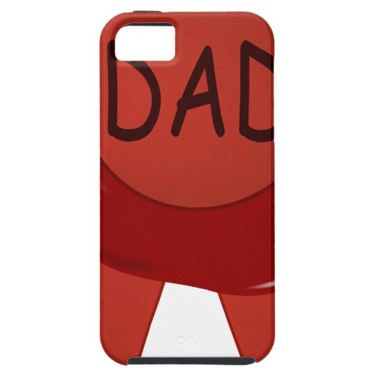 Fathers Day Wax Stamp iPhone 5 Case