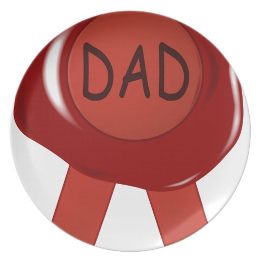 Fathers Day Wax Stamp Plate
