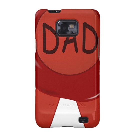 Fathers Day Wax Stamp Samsung Galaxy S2 Case