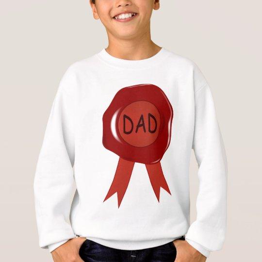 Fathers Day Wax Stamp Sweatshirt