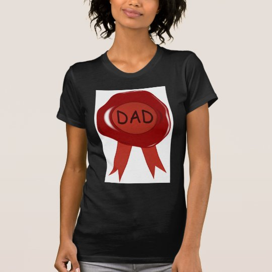 Fathers Day Wax Stamp T-Shirt