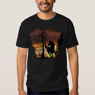 Father's Day Wild Horse Sunset T-shirt