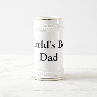 Father's Day World's Best Dad 18 Oz Beer Stein