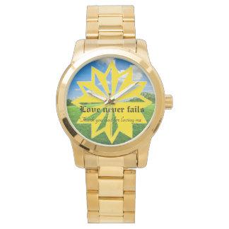 Fathers day wristwatch