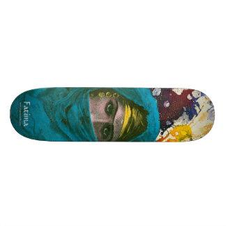 Fatima by Michael Moffa Skate Deck