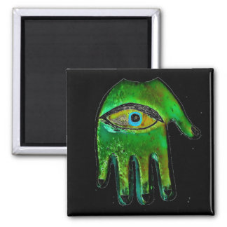 Fatima Hand protection Square Magnet