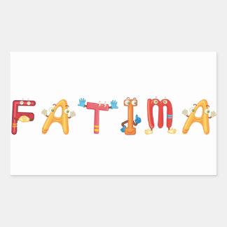 Fatima Sticker
