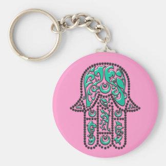 Fatimas Hand... Basic Round Button Keychain