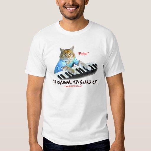 Fatso...Original Keyboard Cat T-shirts