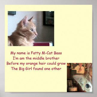 Fatty's Intro Posters