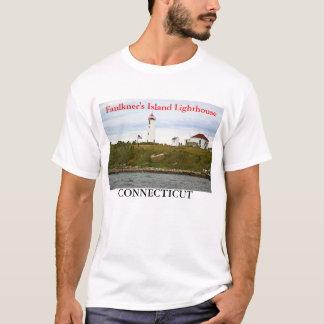 Faulkner's Island Lighthouse, Connecticut T-Shirt