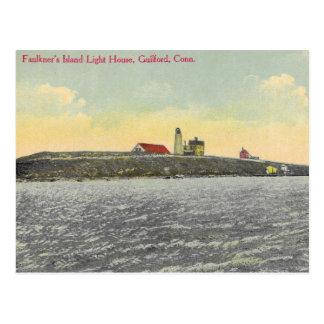 Faulkner's Island Vintage Post Card